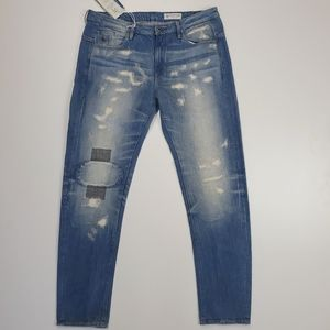 G star raw type c 3d distressed low boyfriend fit